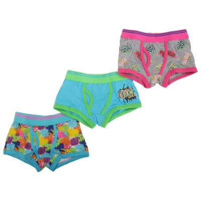 4Kidz 3 Packs Boy Trunk Fit Boxers Age 5-6 Years
