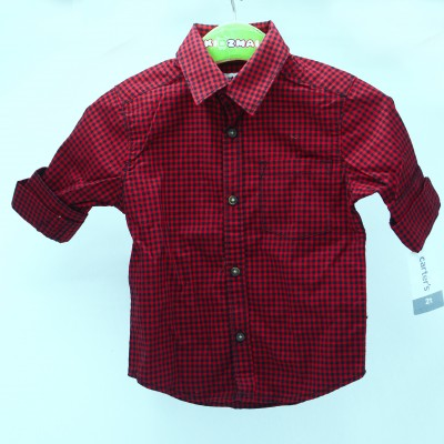 Carter's Preppy Plaid Shirt (Toddler/Kid) 3