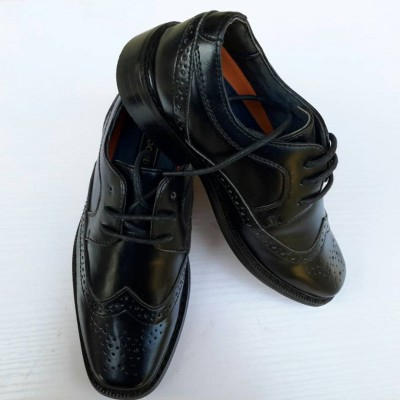 Good Fellas Black Oxford Dress Shoes