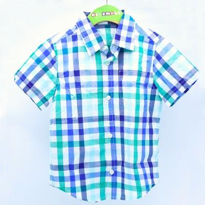 Gymboree Baby Boys Plaid Shirt 7-8 years