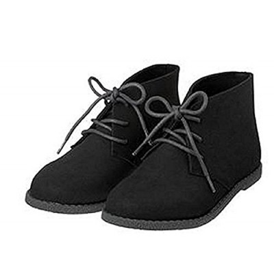 Gymboree Boys Black Lace Up Boots
