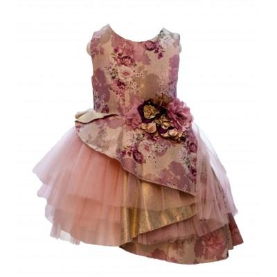 Jolanda Creamy Party Dress 3