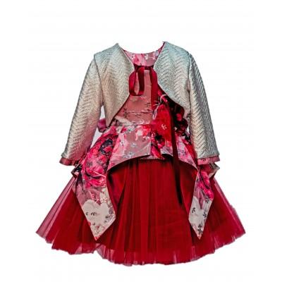 Jolanda Floral Dress/Jacket 3