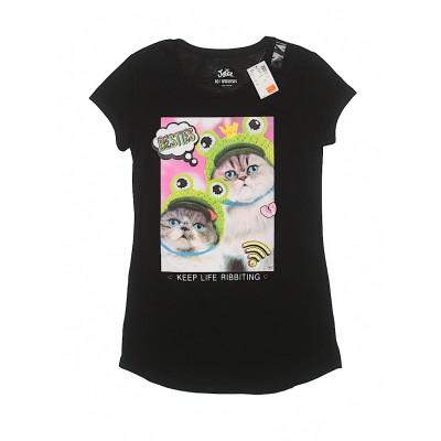 Justice Black Short Sleeve T-Shirt