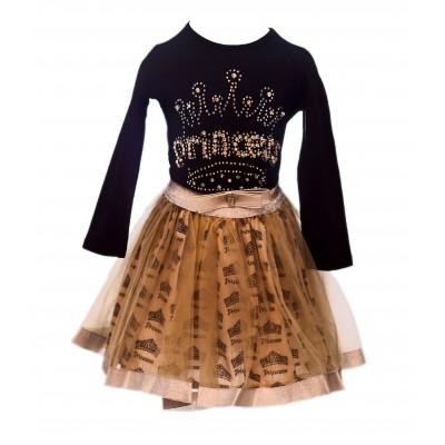 Neon tutu skirt and blouse (Princess) 3