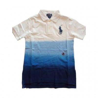 Ralph Lauren Dip-Dyed Cotton Mesh Polo Cruise Navy 3