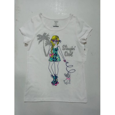 Short Sleeve Front Graphic Tee