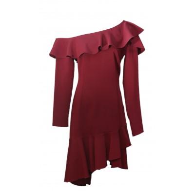 Upgrade Wine Dress 3