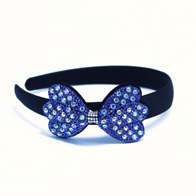 Baby Alice Band With Blue Stone