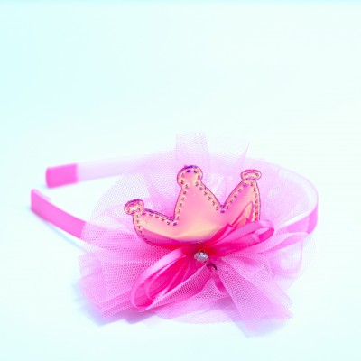 Baby Alice Band With Crown