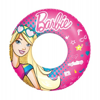 Barbie Swim Ring Inflatable Swimming Pool Float