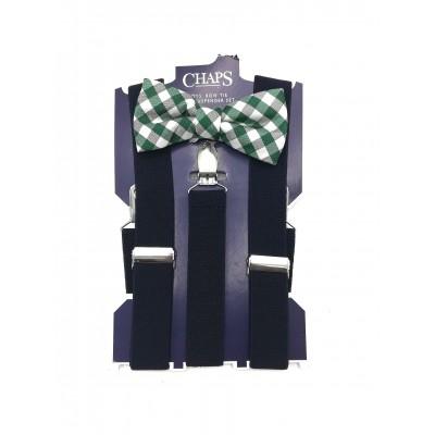 Chaps Boys' Bow Tie Suspender Set