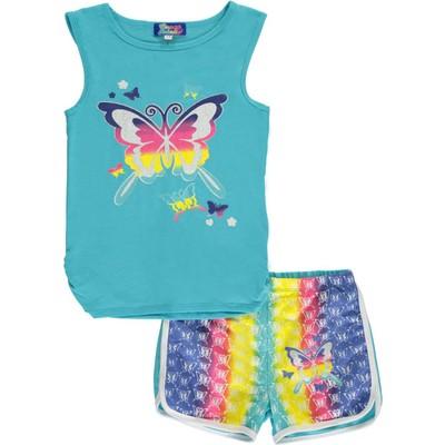 "Coney Island Big Girls' ""Rainbow Flight"" 2-Piece Outfit"