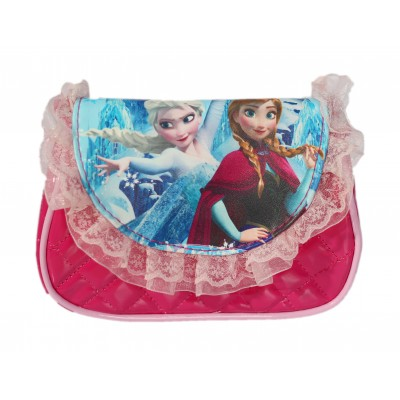 FROZEN TODDLER RUFFLED HAND BAG