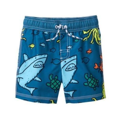Gymboree Boys' Swim Shark Trunk
