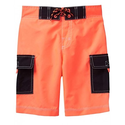 Gymboree Boys' Little Cargo Swim Trunks