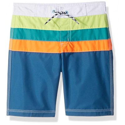 Gymboree Boys' Toddler Colorblock Swim Trunks