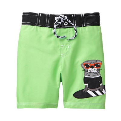 Gymboree Pug Swim Trunks