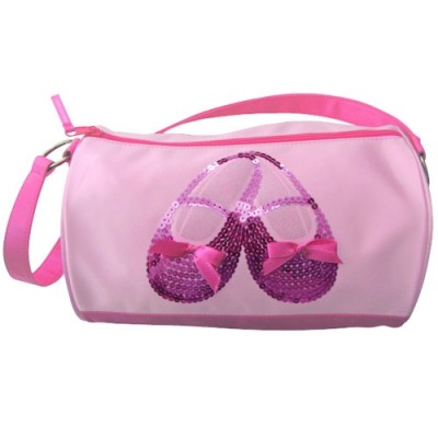 Horizon Dance Bags-Satin & Sequins Ballet Shoe Duffle Bag