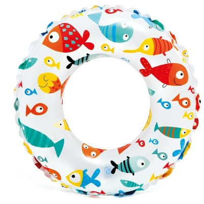 INTEX-20 INCH LIVELY PRINT SWIM RINGS