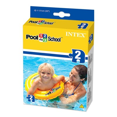 Intex Step 2 Deluxe Swim Ring Pool