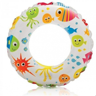 Intex Swim Ring - 51cm Lively Ocean Print