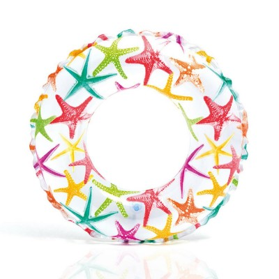 Intex Swim Ring - 51cm Lively Starfish Print