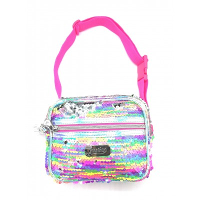 Justice Girls Convertible Sparkle Crossbody Bag