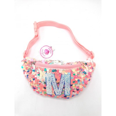 Justice Sequin Waist Bag-M