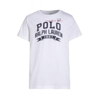 Polo Ralph Lauren Print T-shirt – white Kids Clothing Shirts & Tops T-Shirts