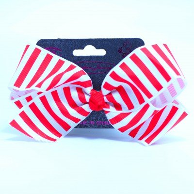 S.S White/Red Bow