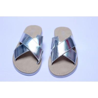 Rainbow Gradiant Double-Strap Luna Sandal