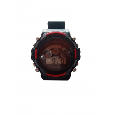 BEITA SPORT WRIST WATCH - BLACK & REDd
