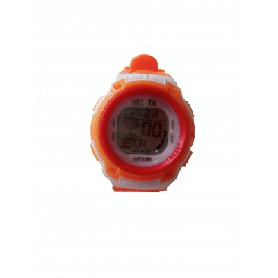 Beita Sport Wrist Watch - White & Orange