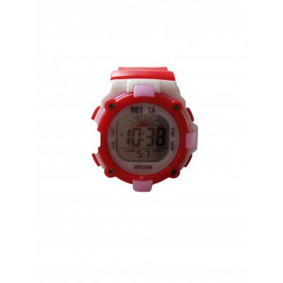 BEITA SPORT WRIST WATCH - WHITE & RED