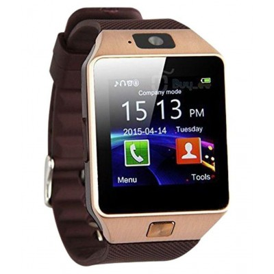 DZ09 bluetooth Wrist Smart Watch - brown