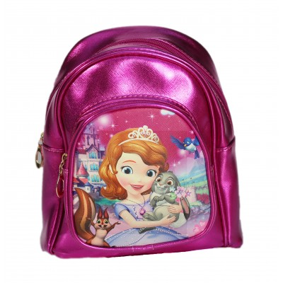Disney princess mini backpack - fuschia