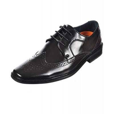 Good Fellas Black Oxford Dress Shoes