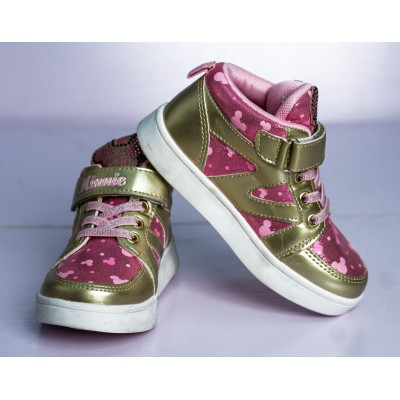 Minnie Sparkle Sneaker (Toddler/Little Kid)