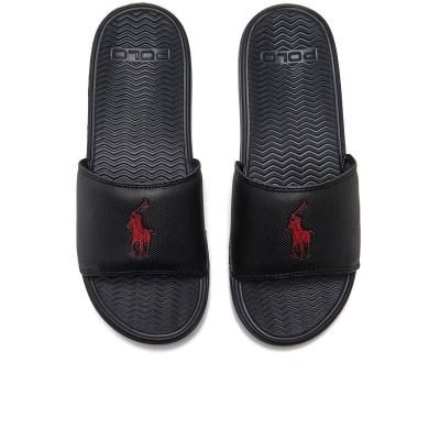 Polo Ralph Lauren Men's Rodwell Slide Sandals - Black