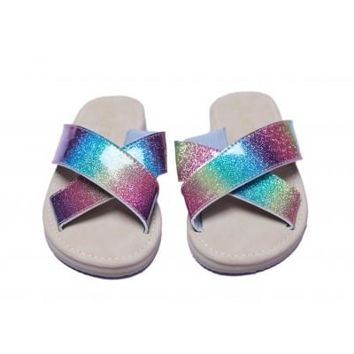 Ash Gradiant Double-Strap Luna Sandal