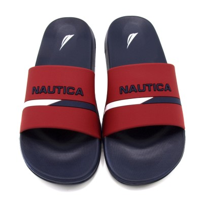 Stono Logo Slides - Red - Nautica