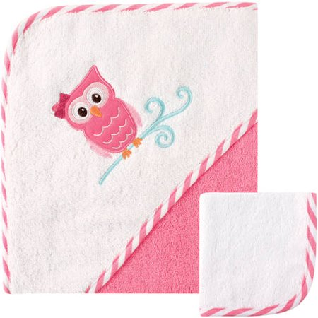 Luvable Friends Hooded Towel & Washclothes