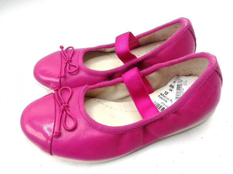 Clark's (Wine,Pink N Navy blue)Girls Shoe 1