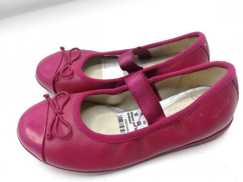 Clark's (Wine,Pink N Navy blue)Girls Shoe 2