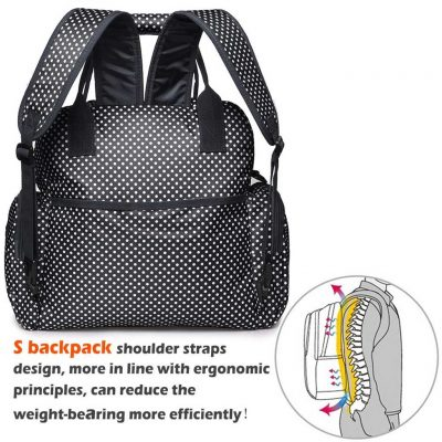 Walmart FancyNova All-in-One Diaper Bag Backpack