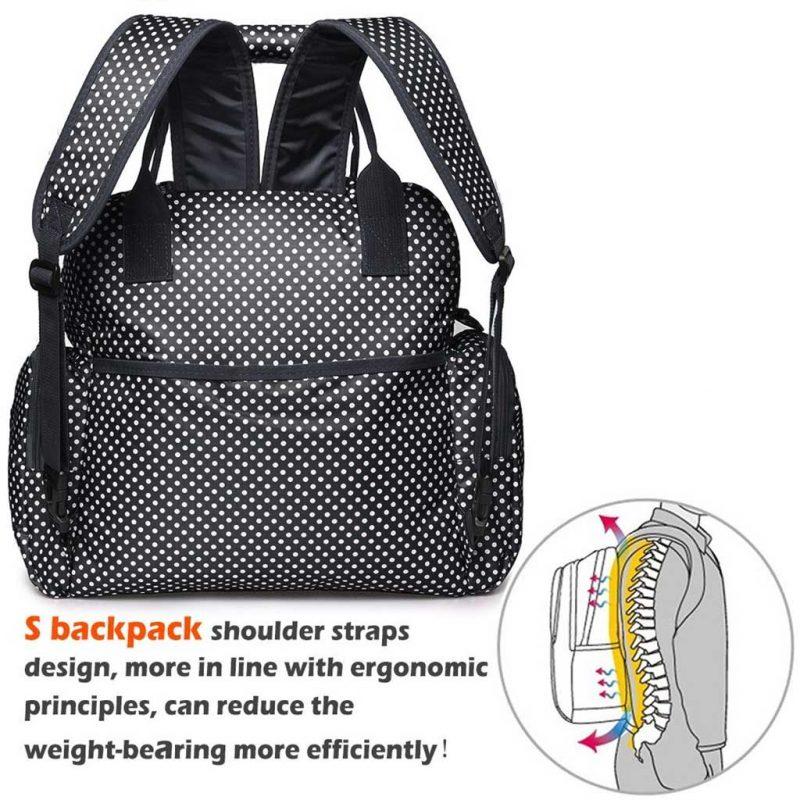 Walmart FancyNova All-in-One Diaper Bag Backpack