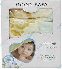 Good Warm Baby Blanket For Girl Or Boy - Multicolor