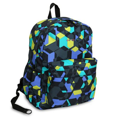 J World OZ Cubes Multicolored Backpack