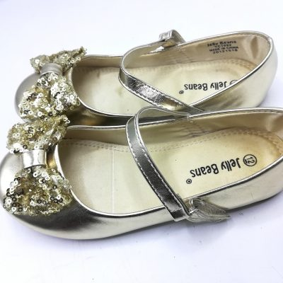 Jelly Beans Gold Shoe (Girls)